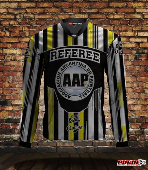 jersey-reff-arbitro-paintball-one-way-anthrax-aap